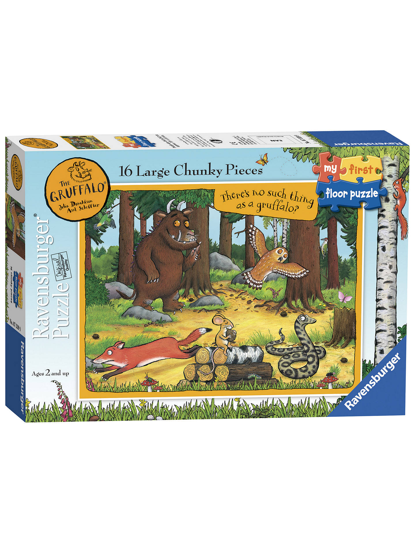BuyRavensburger Gruffalo Floor Jigsaw Puzzle, 16 Pieces Online at johnlewis.com