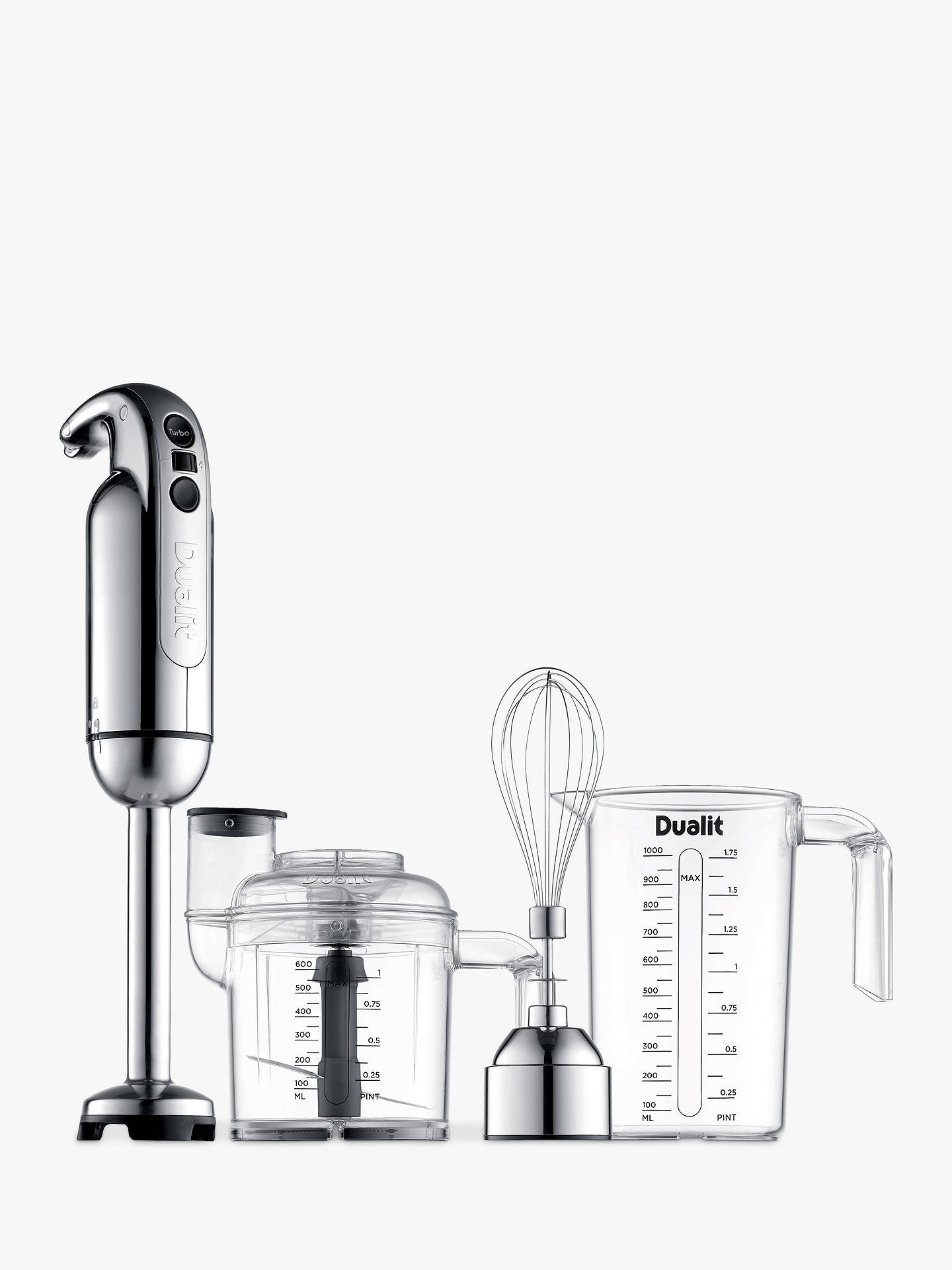 Buy Dualit 88910 Hand Blender Set Online at johnlewis.com