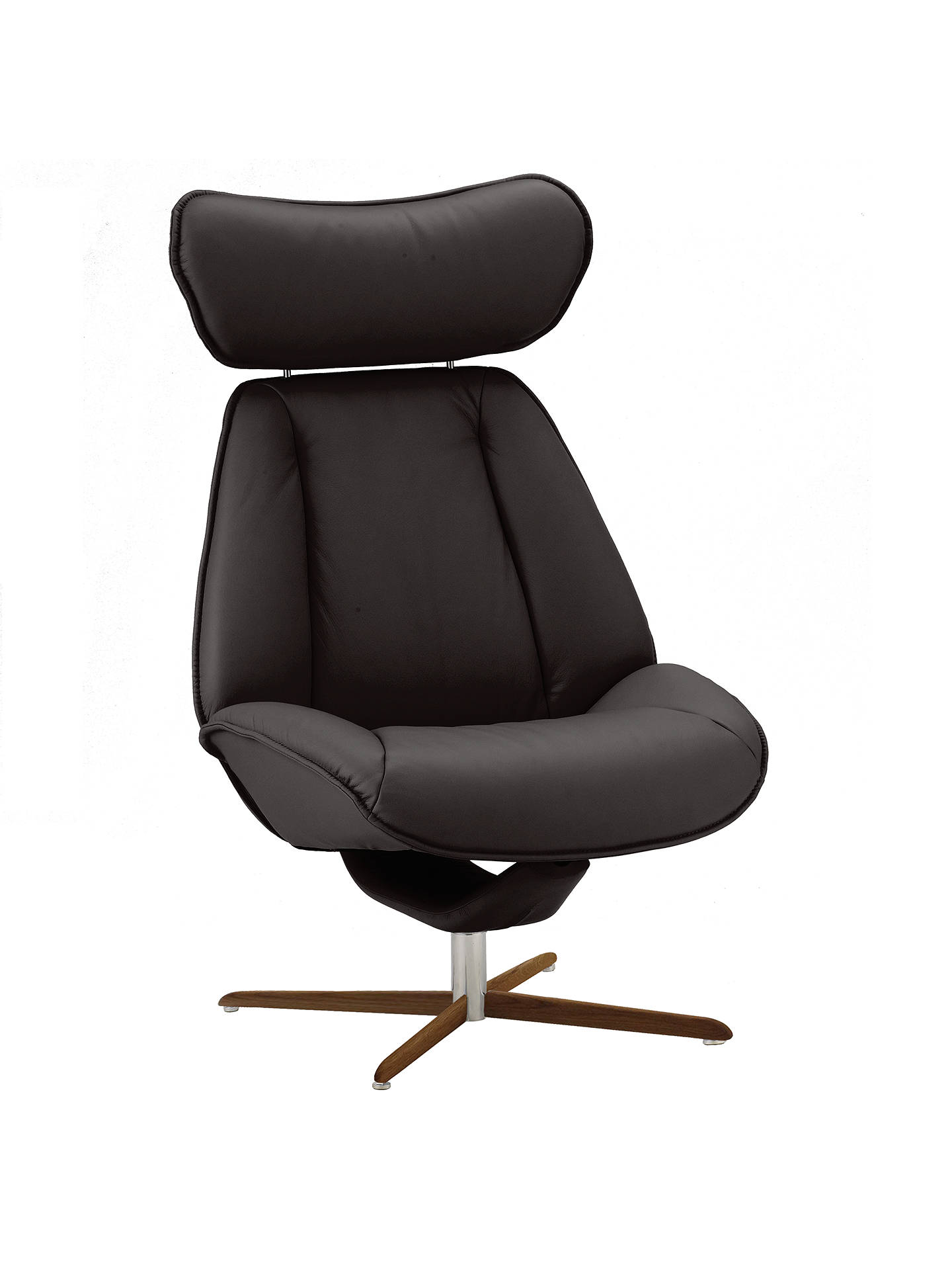 Fjords Motionconcept Tazio High Leather Recliner Chair