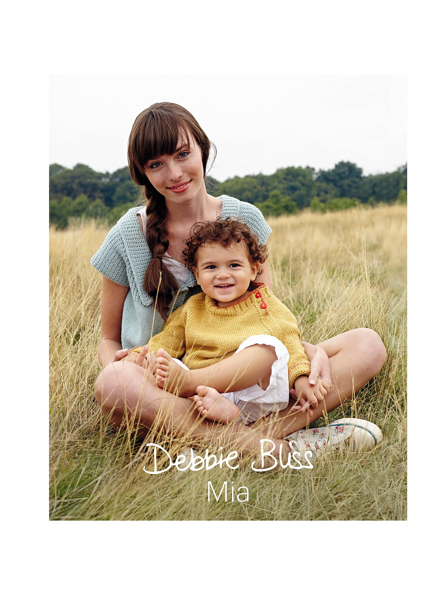 Buy Debbie Bliss Mia Knitting Book Online at johnlewis.com