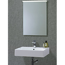Buy Roper Rhodes Induct Illuminated LED Bathroom Mirror Online at johnlewis.com