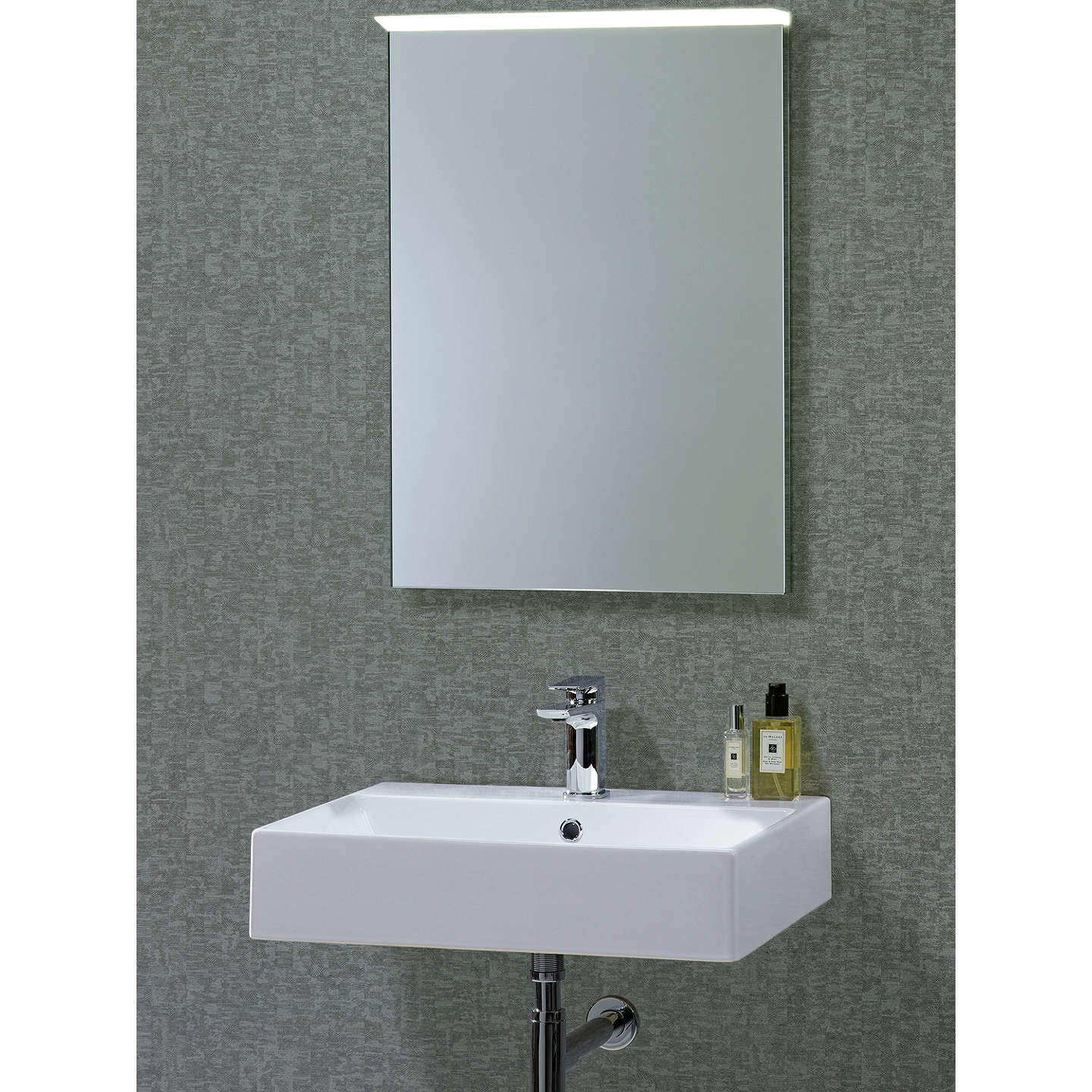 roper induct illuminated led bathroom mirror at 11029