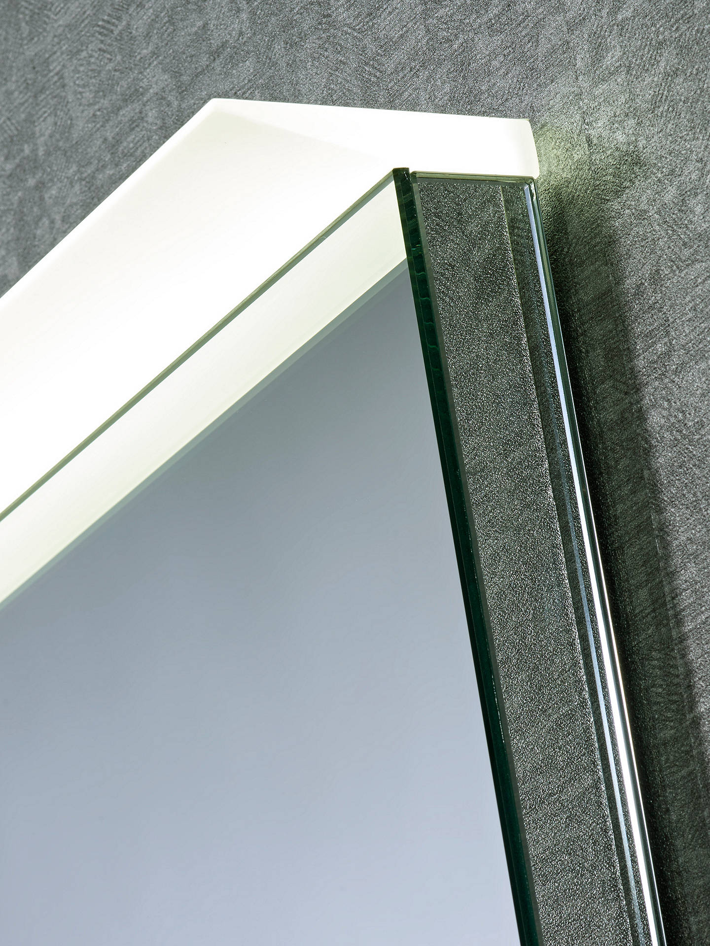 BuyRoper Rhodes Induct Illuminated LED Bathroom Mirror Online at johnlewis.com