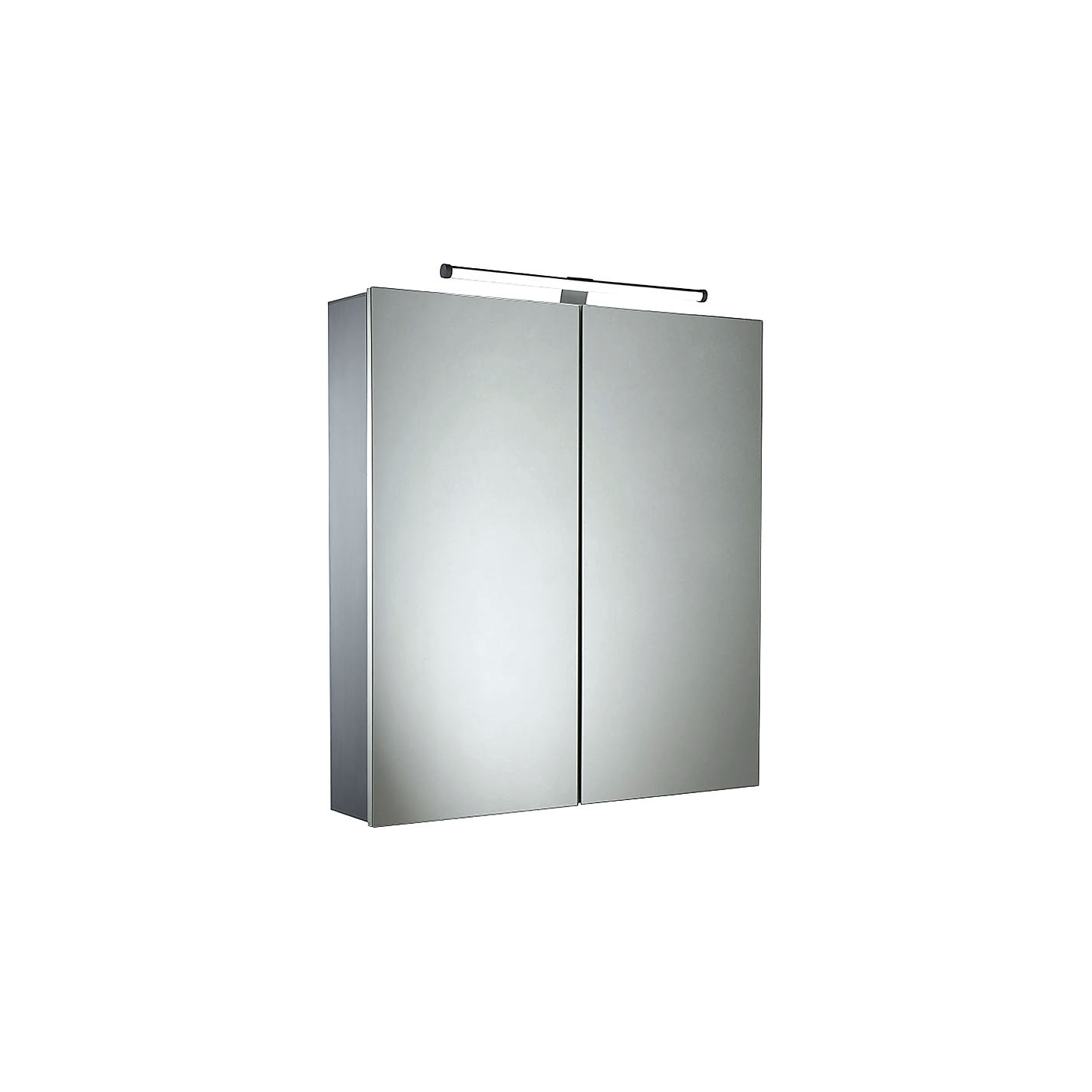 Aluminium Bathroom Cabinets Buy Roper Rhodes Conduct Illuminated Double Bathroom Cabinet