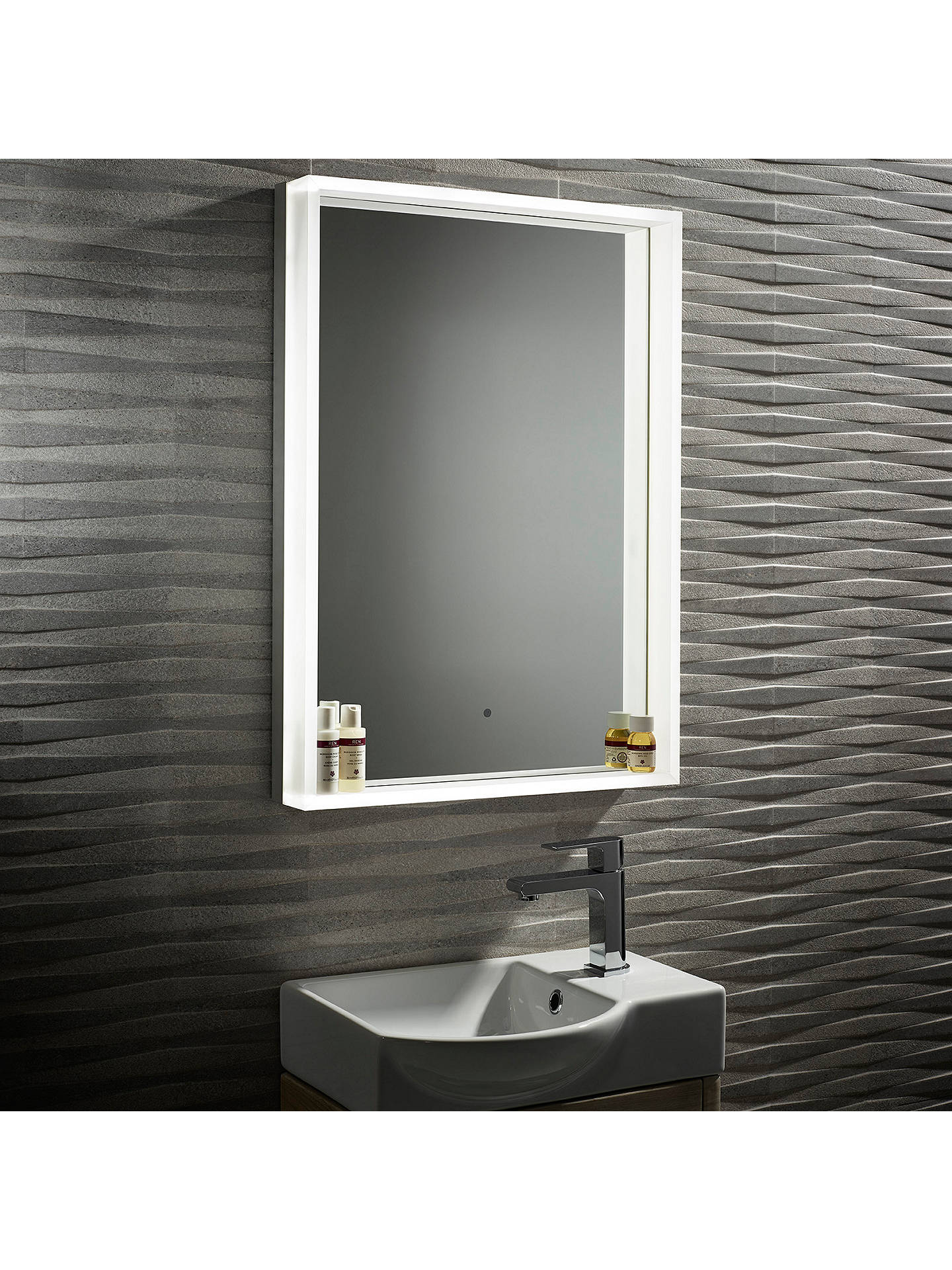 Bathroom Mirrors Illuminated: Roper Rhodes Aura Illuminated LED Bathroom Mirror At John