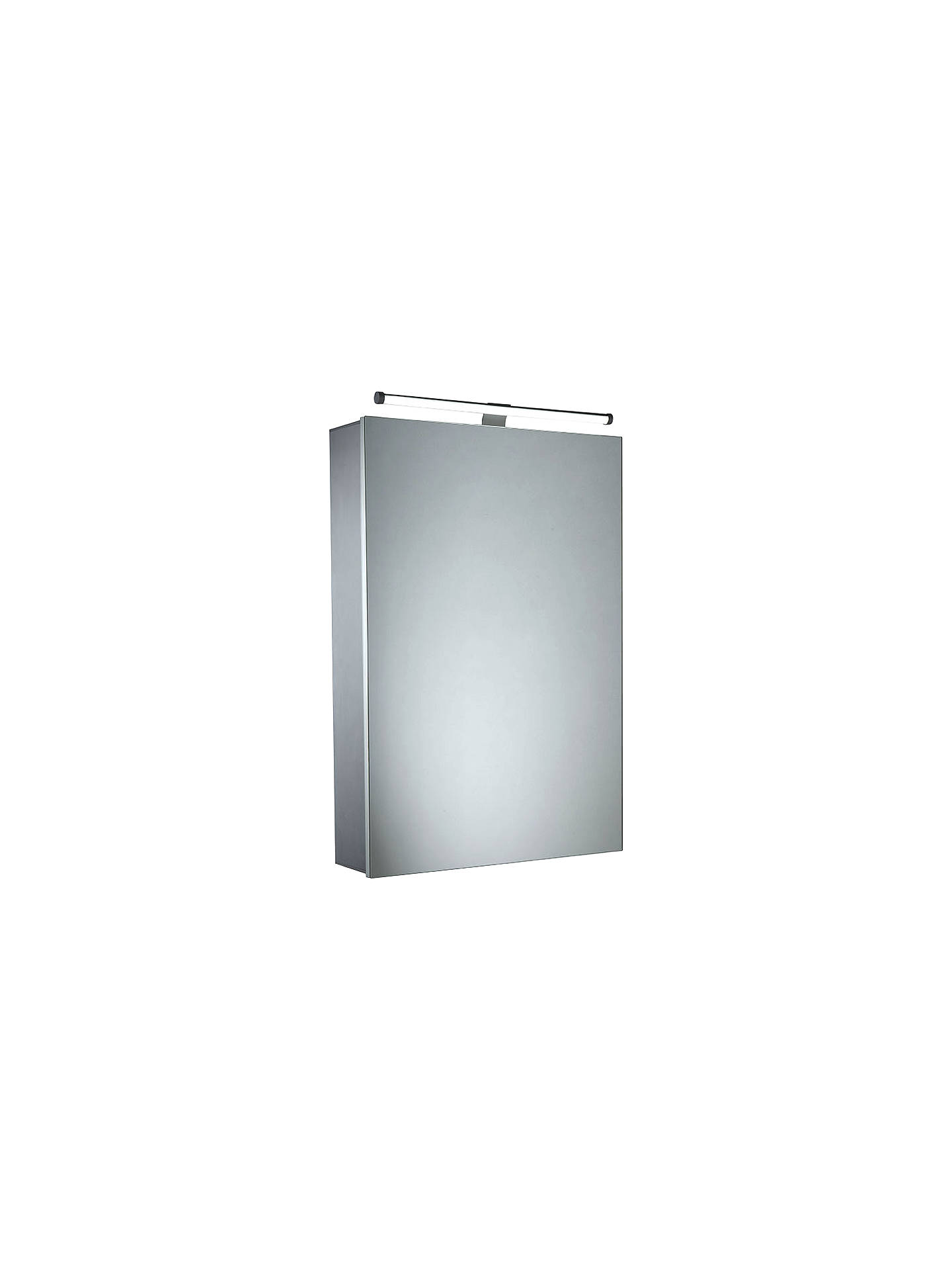 Cheap Illuminated Bathroom Mirrors: Roper Rhodes Conduct Illuminated Single Bathroom Cabinet