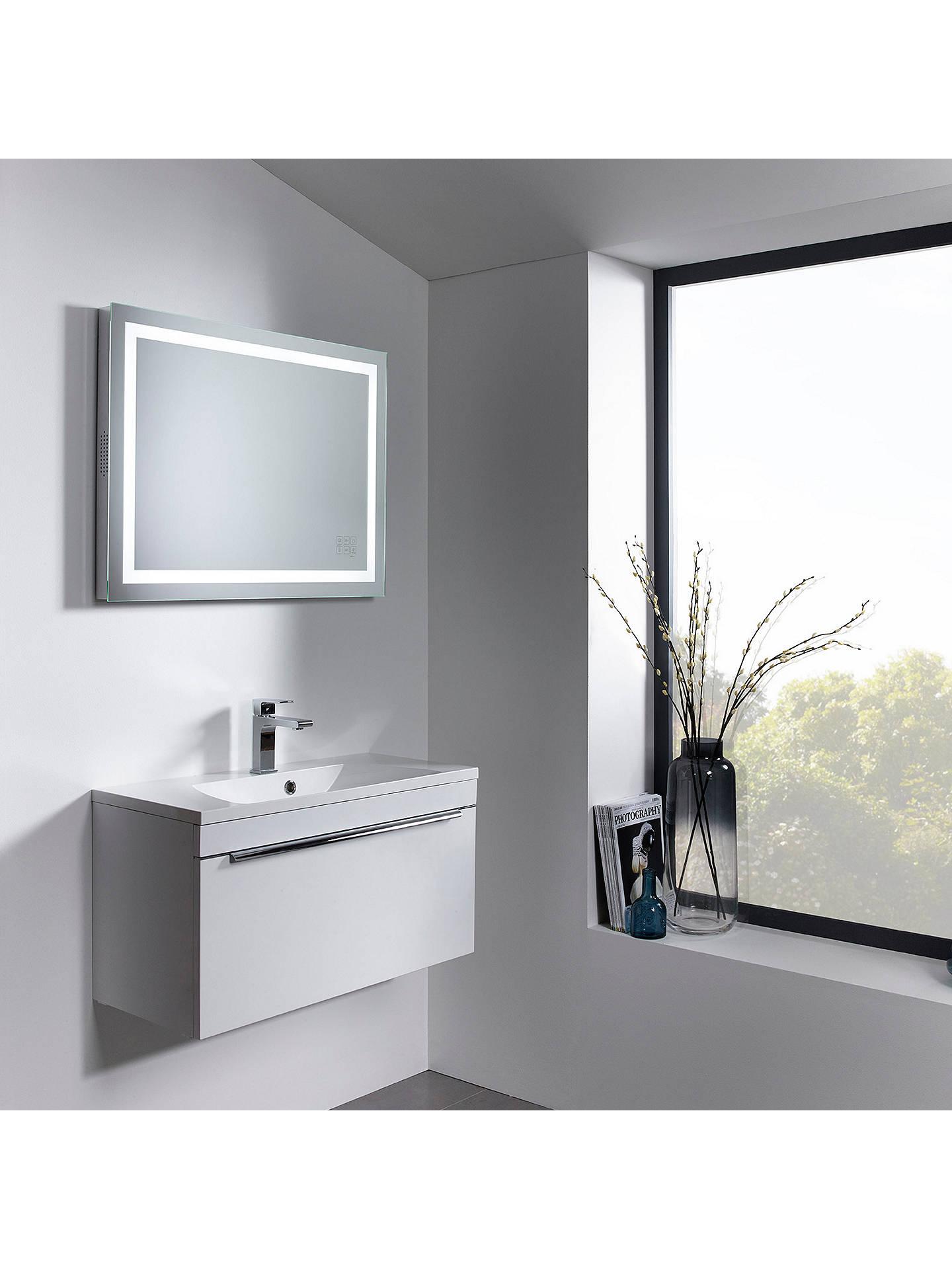 Roper Rhodes Beat Illuminated Led Bathroom Mirror with Integrated ...