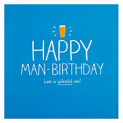 Image of Happy Jackson Happy Man-birthday Card