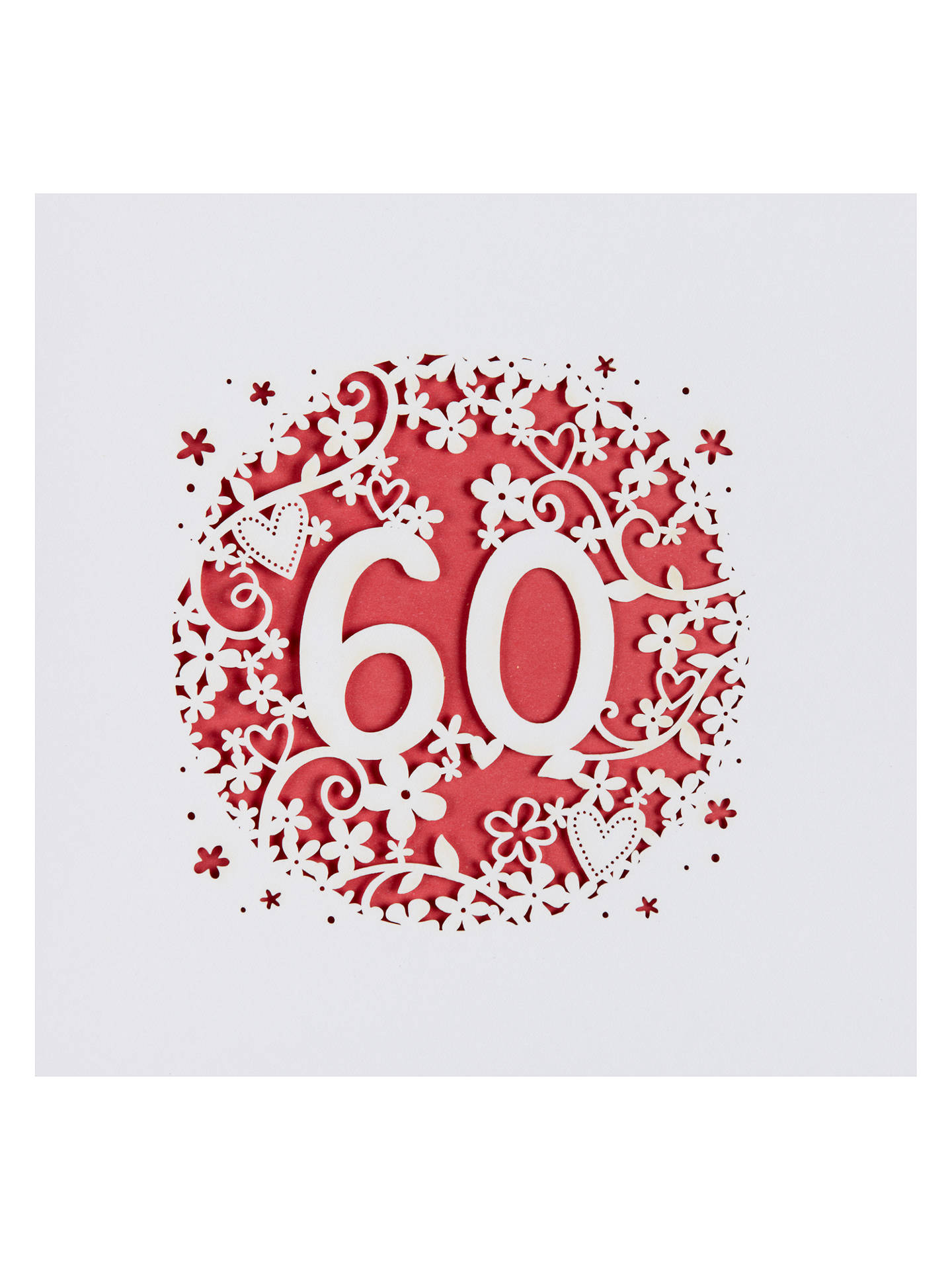 Buy Paperlink 60th Birthday Card Online At Johnlewis