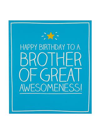 Birthday Brother Greetings Cards John Lewis Partners
