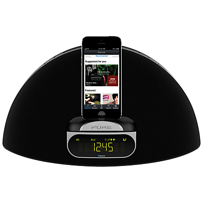 Pure Contour D1 DABFM Bluetooth iPod Dock with Apple Lightning & 30 Pin