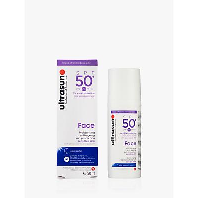 Ultrasun SPF 50 AntiAgeing Ultra Sensitive Facial Sun Cream 50ml