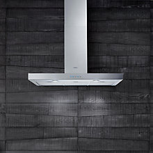 Buy Elica Ledge 90 Chimney Cooker Hood, Stainless Steel Online at johnlewis.com