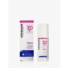 Buy Ultrasun SPF 30 Anti-Ageing Very Sensitive Facial Sun Cream, 50ml Online at johnlewis.com