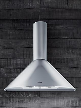 Elica Tonda 60 Chimney Cooker Hood, Stainless Steel