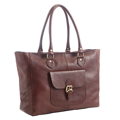 Buy John Lewis Winchester Large Leather Tote Bag Online at johnlewis.com