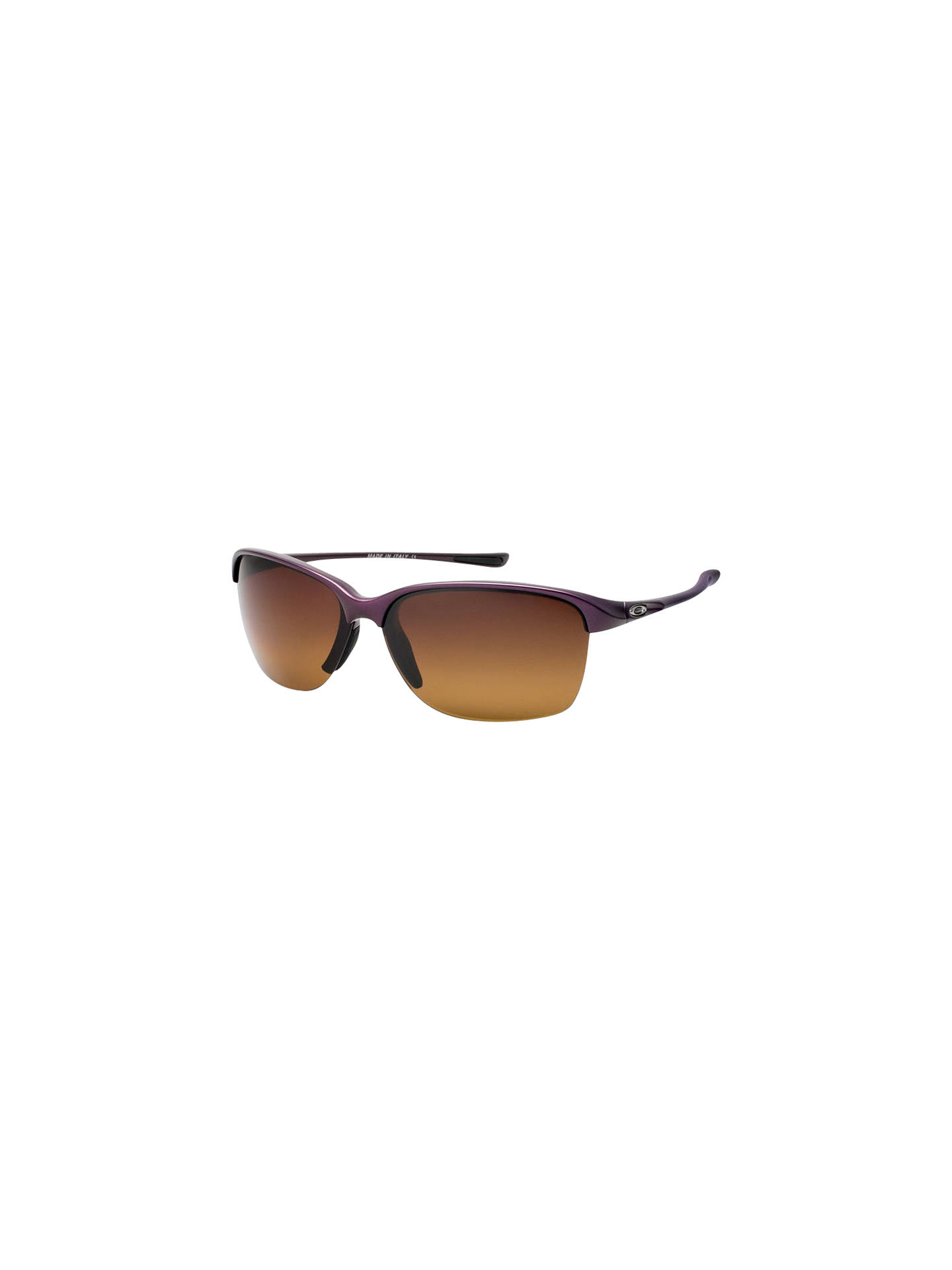 Oakley OO9191 Unstoppable Half Framed Polarised Sunglasses at John ... edac8ac711
