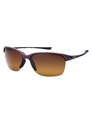 Oakley OO9191 Unstoppable Half Framed Polarised Sunglasses