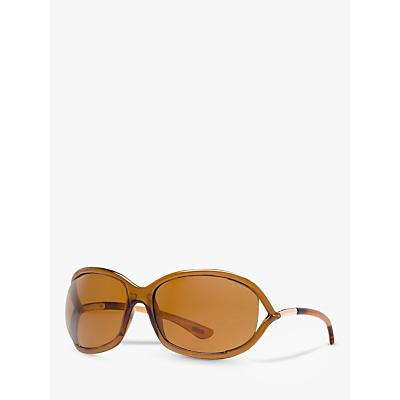 TOM FORD FT0008 48H Cat's Eye Sunglasses, Tortoiseshell