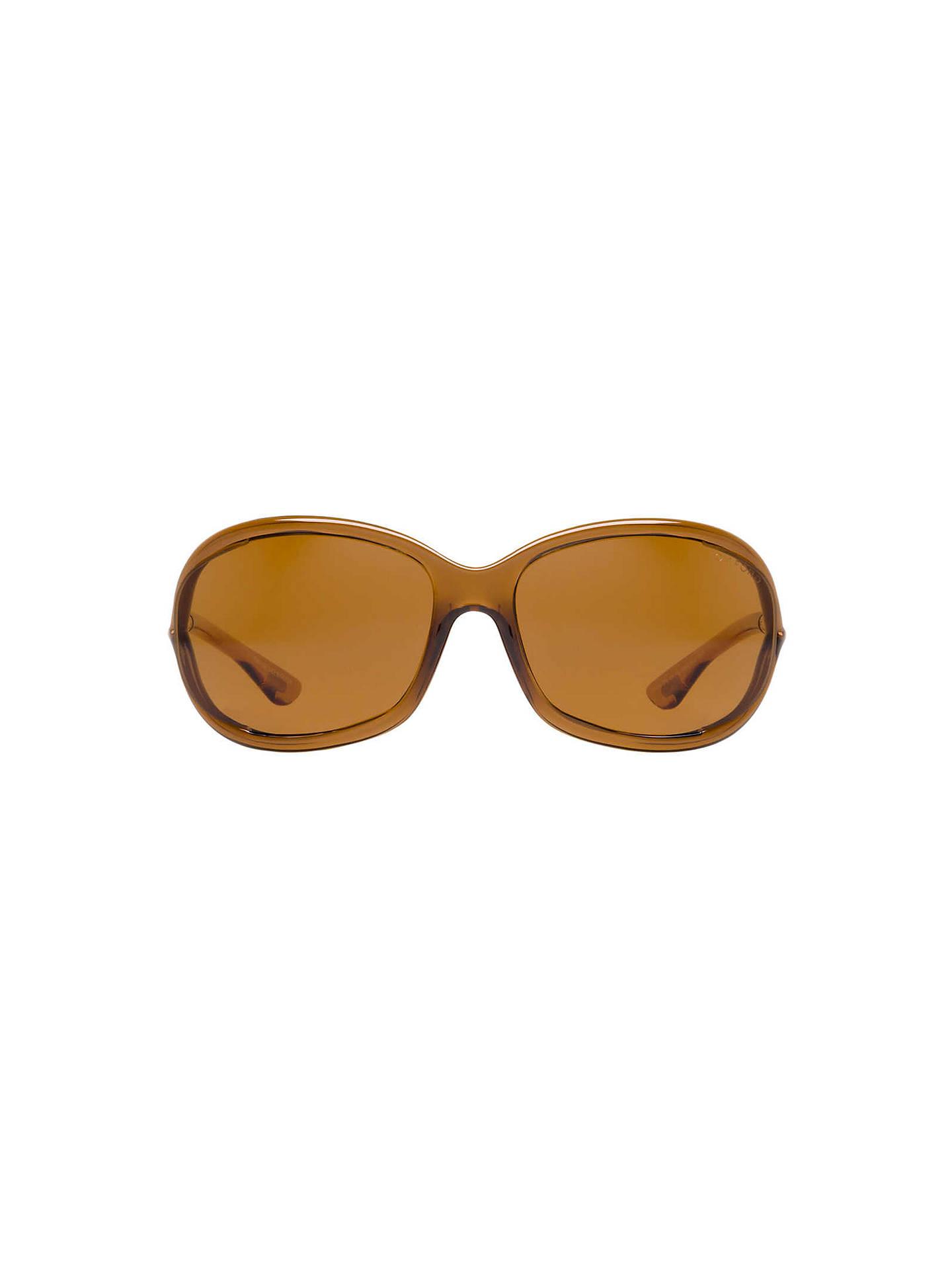 386633cf567f ... Buy TOM FORD FT0008 48H Cat's Eye Sunglasses, Tortoiseshell Online at  johnlewis. ...