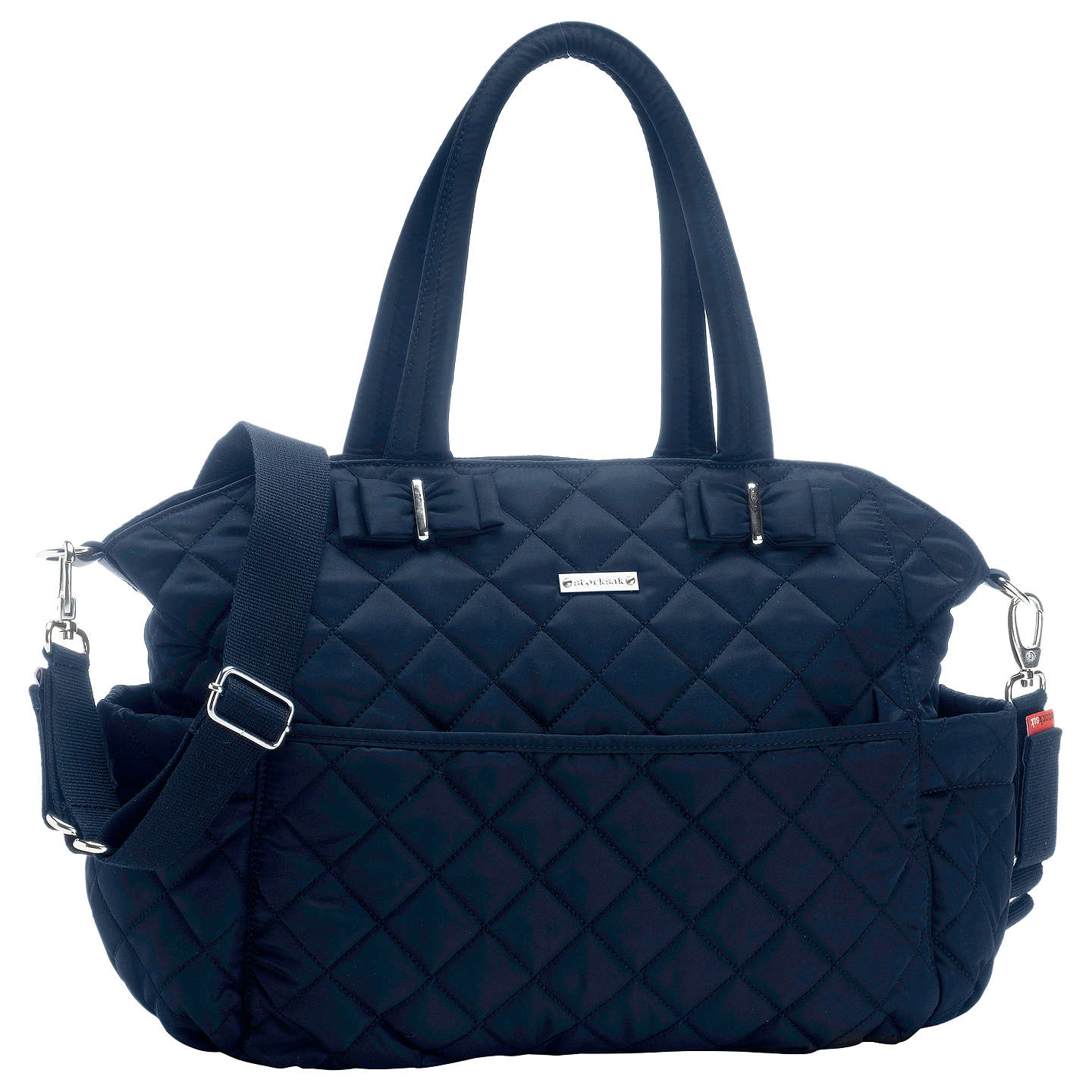 BuyStorksak Bobby Changing Bag, Navy Online at johnlewis.com