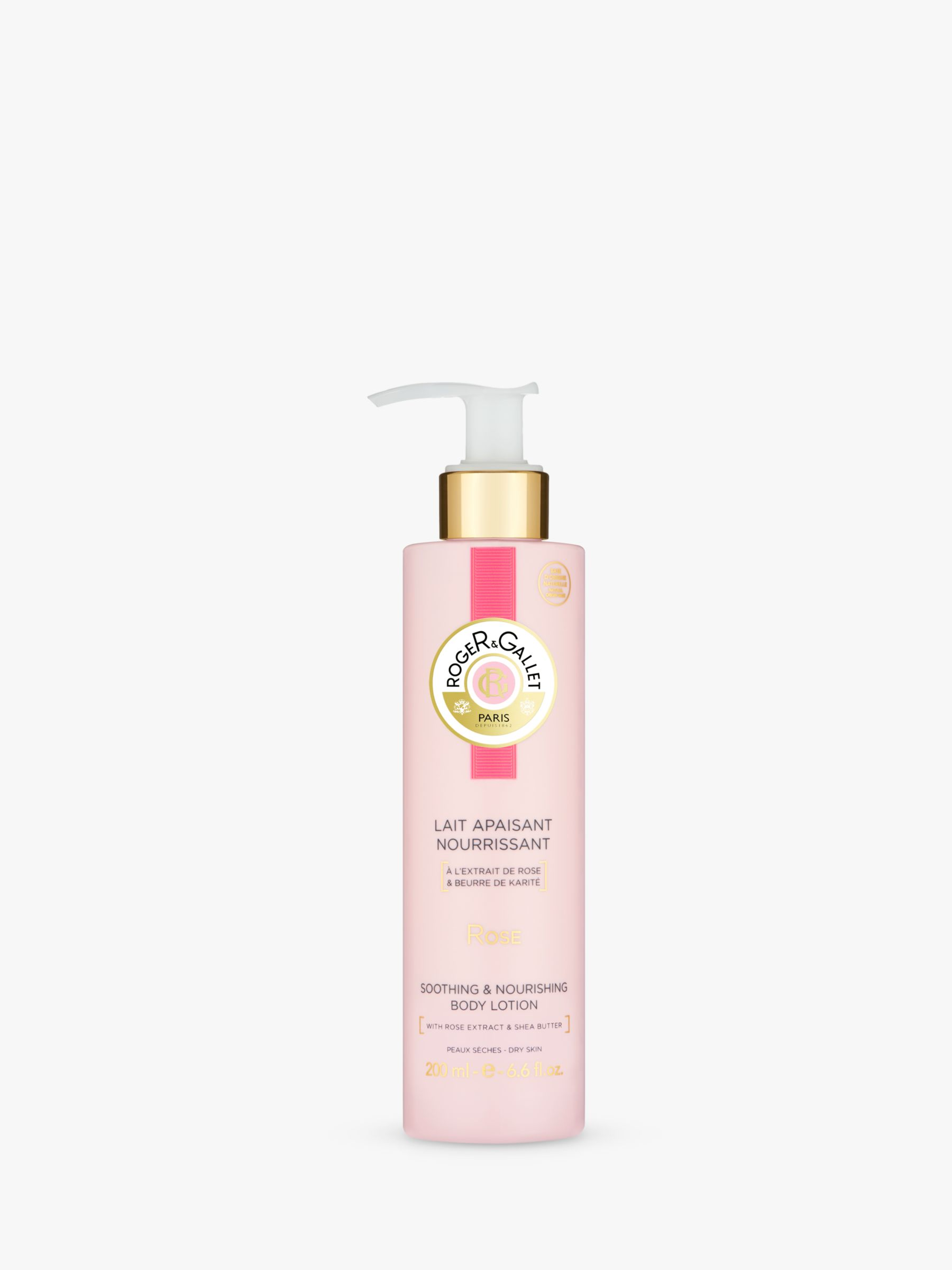 Roger & Gallet Roger & Gallet Rose Hydrating Body Lotion, 200ml