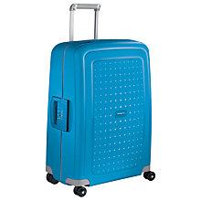 Buy Samsonite S'Cure 4-Wheel 75cm Large Suitcase, Pacific Blue Online at johnlewis.com