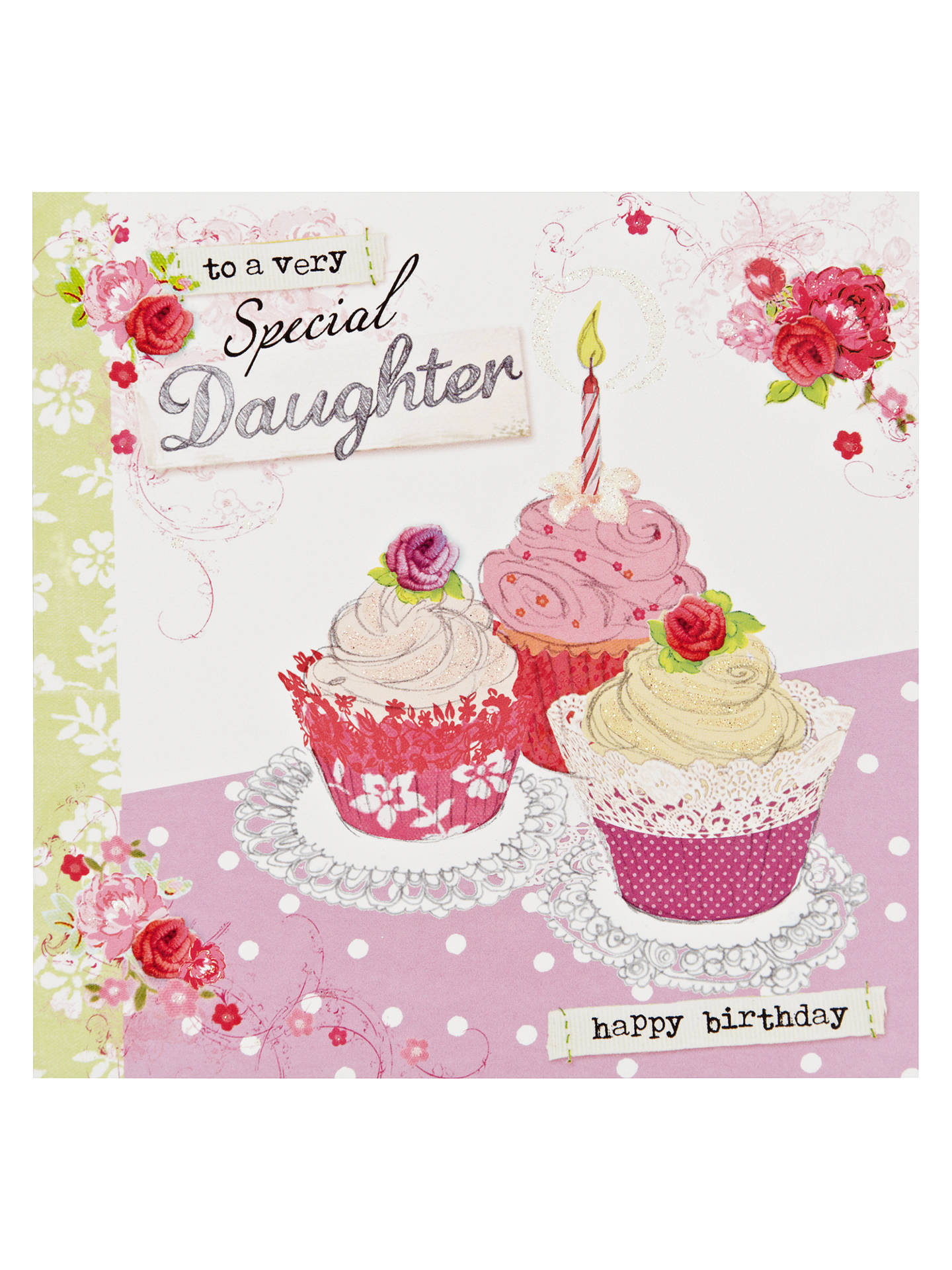 Buy Hotchpotch Special Daughter Birthday Card Online At Johnlewis