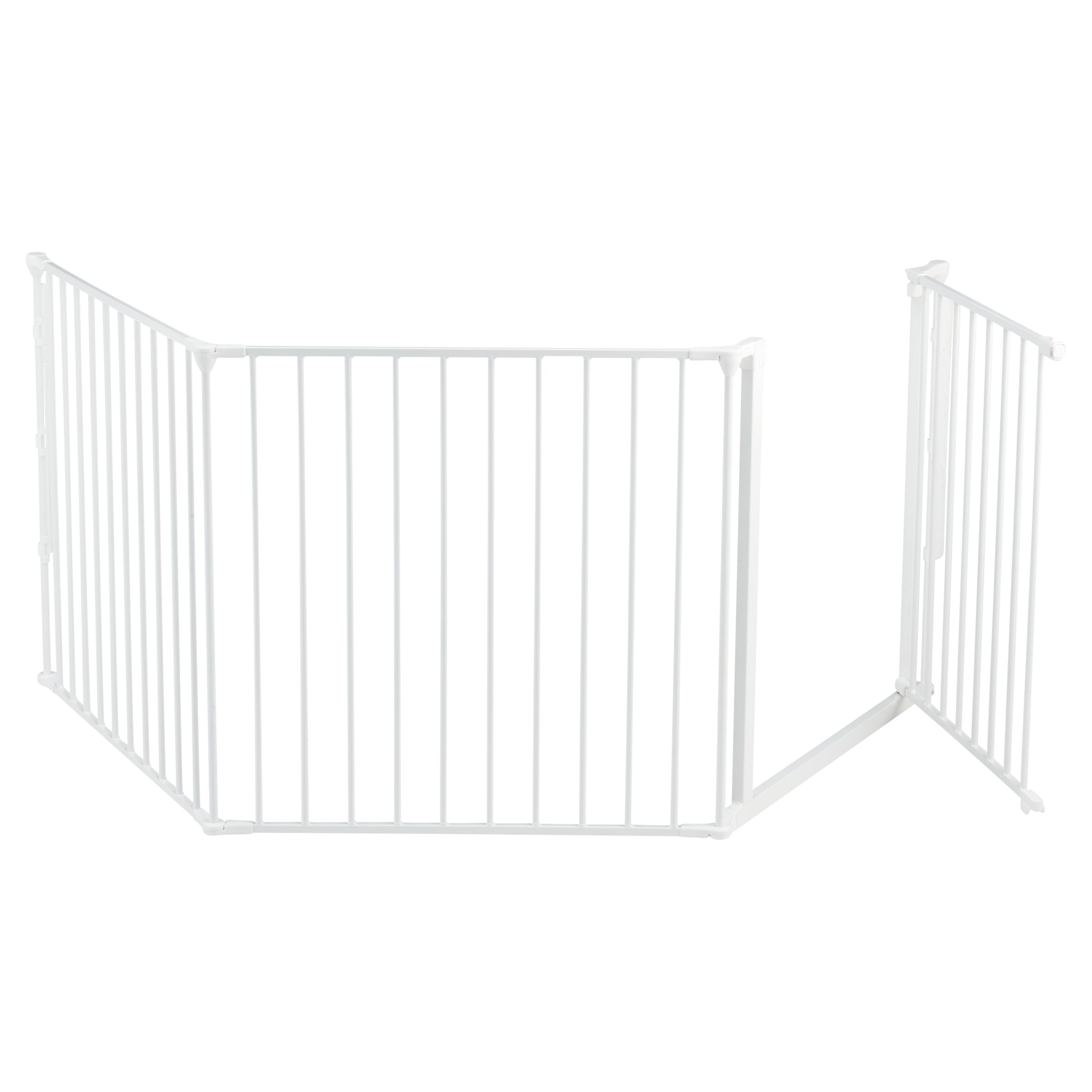 BabyDan Configure Large Baby Gate White at John Lewis