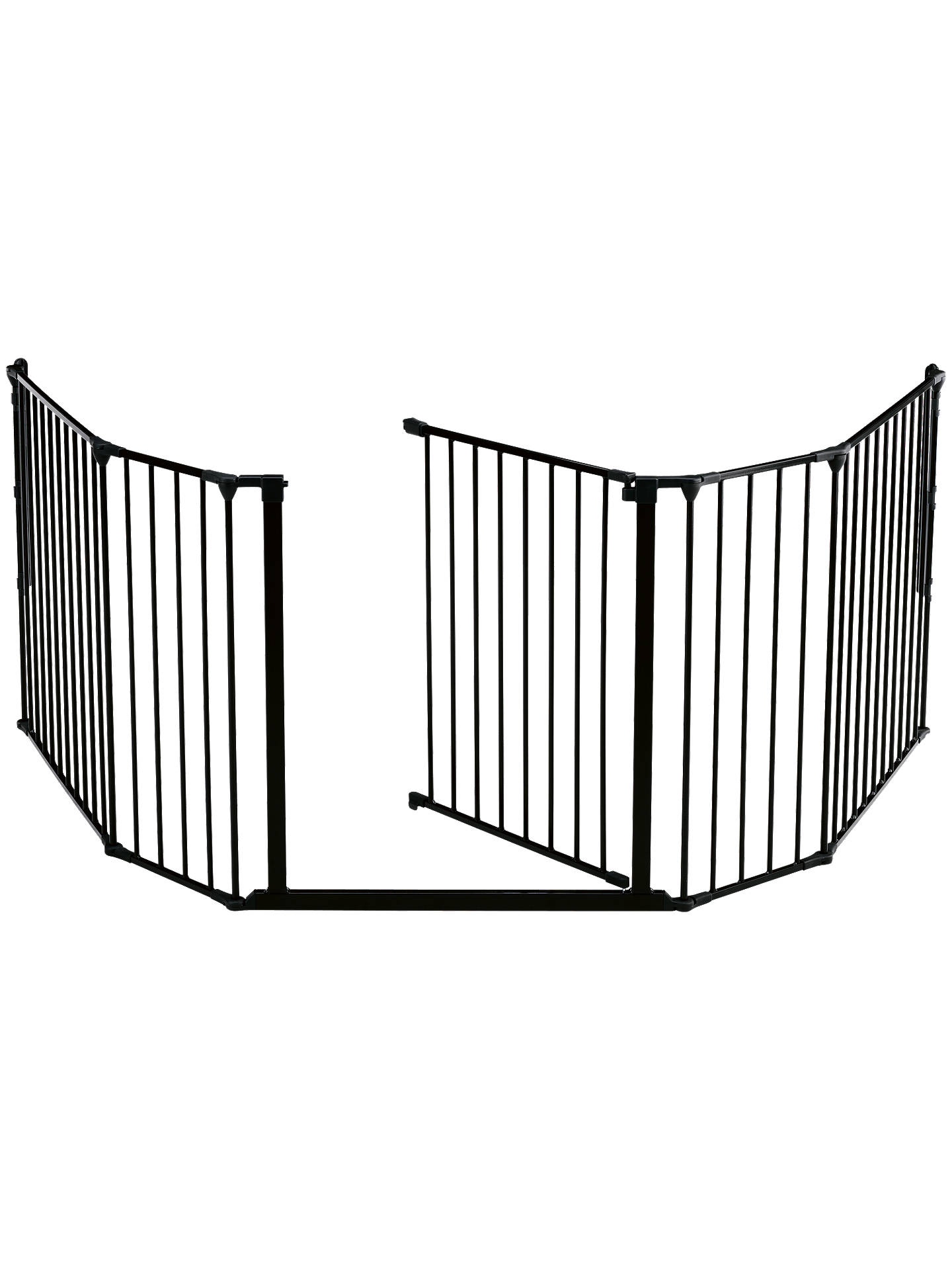 BuyBabyDan XL Fire Surround/Configure Gate, Black Online at johnlewis.com