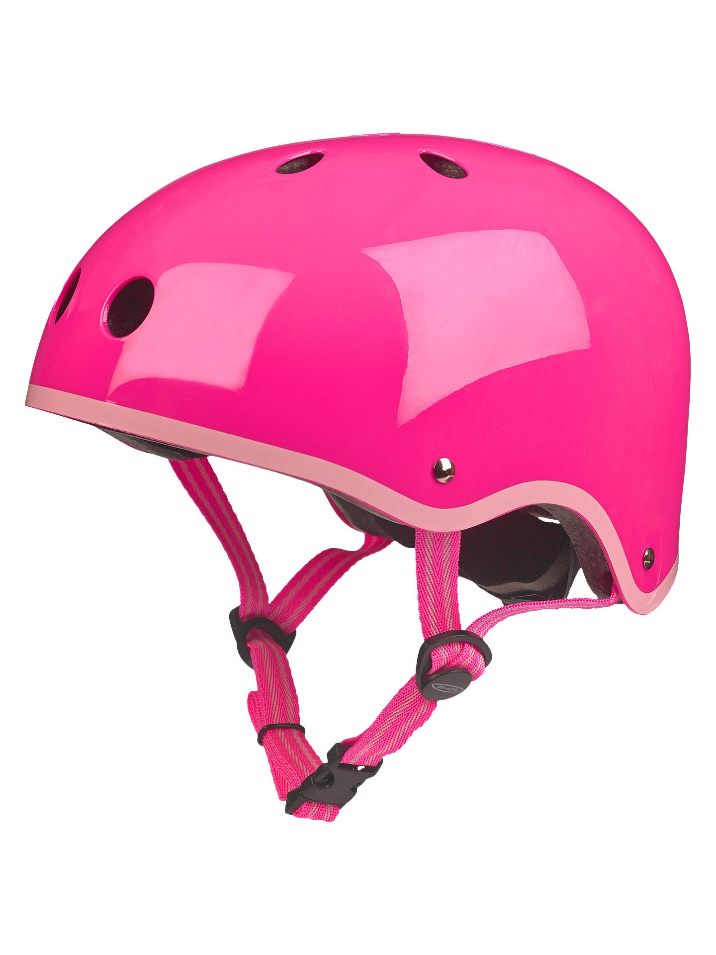 BuyMicro Scooter Helmet, Small, Neon Pink Online at johnlewis.com