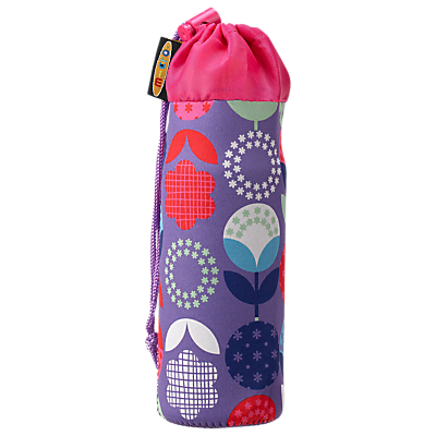 Image of Micro Scooter Bottle Holder, Floral Dot