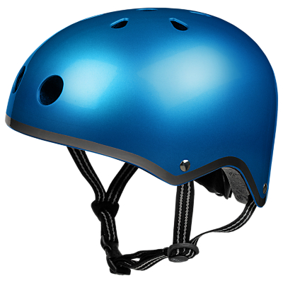 Micro Scooter Safety Helmet, Metallic Blue, Small