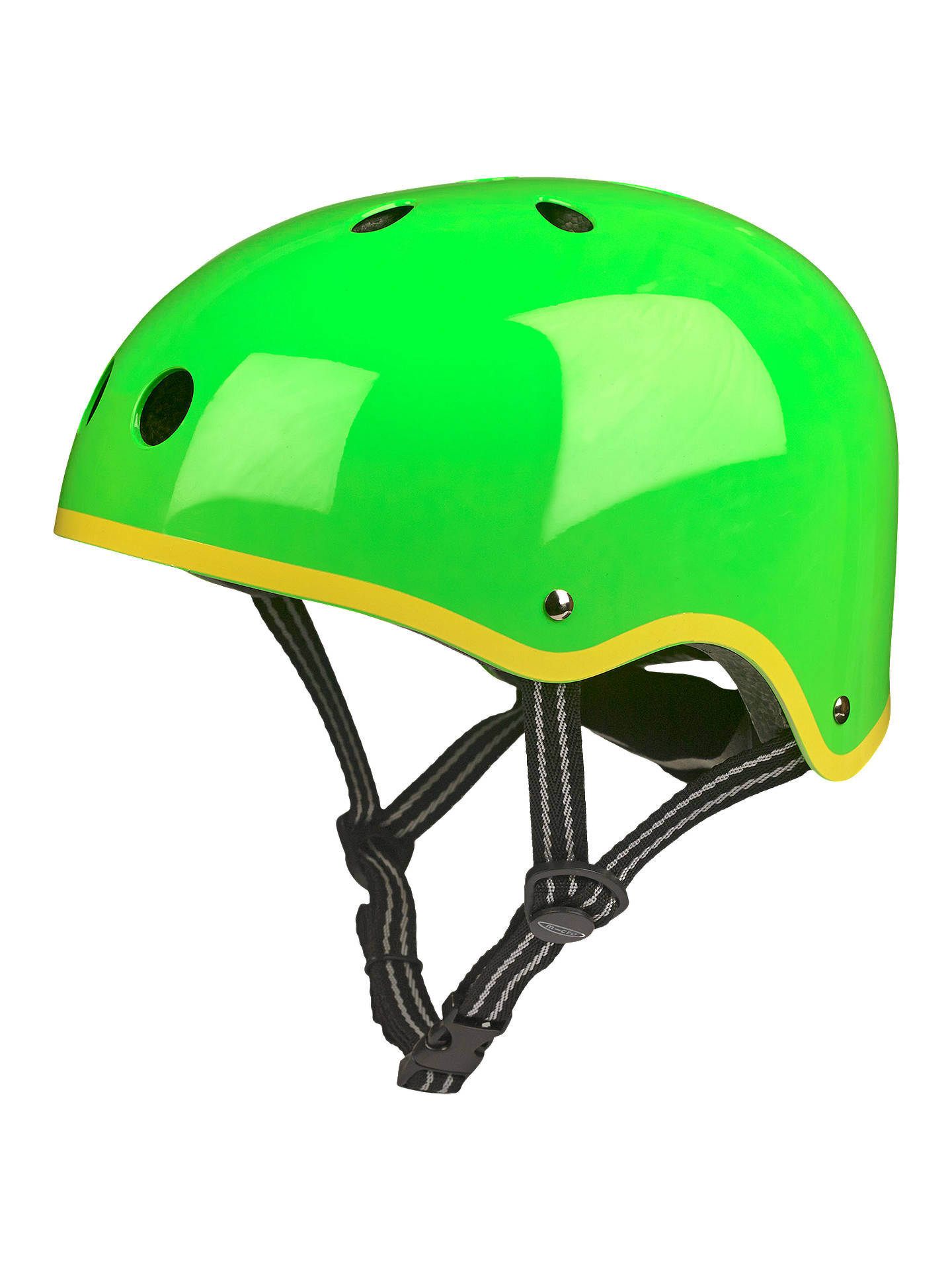 BuyMicro Scooter Safety Helmet, Glossy Green, Medium Online at johnlewis.com