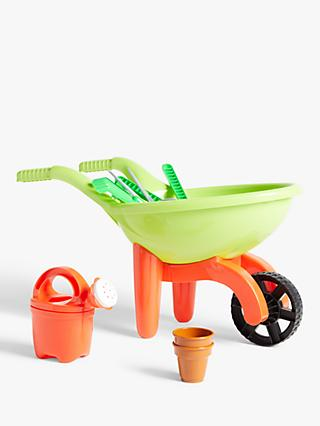 John Lewis & Partners Garden Wheelbarrow and Tools
