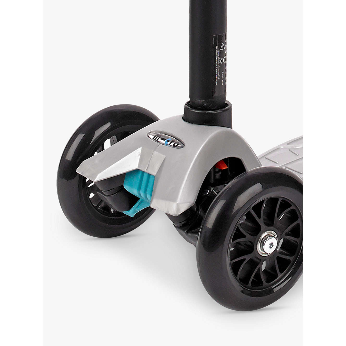 BuyMaxi Micro Scooter, 6-12 years, Silver Online at johnlewis.com