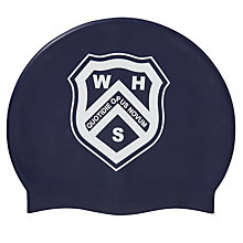 Buy Westville House School Swimming Cap, Navy Online at johnlewis.com