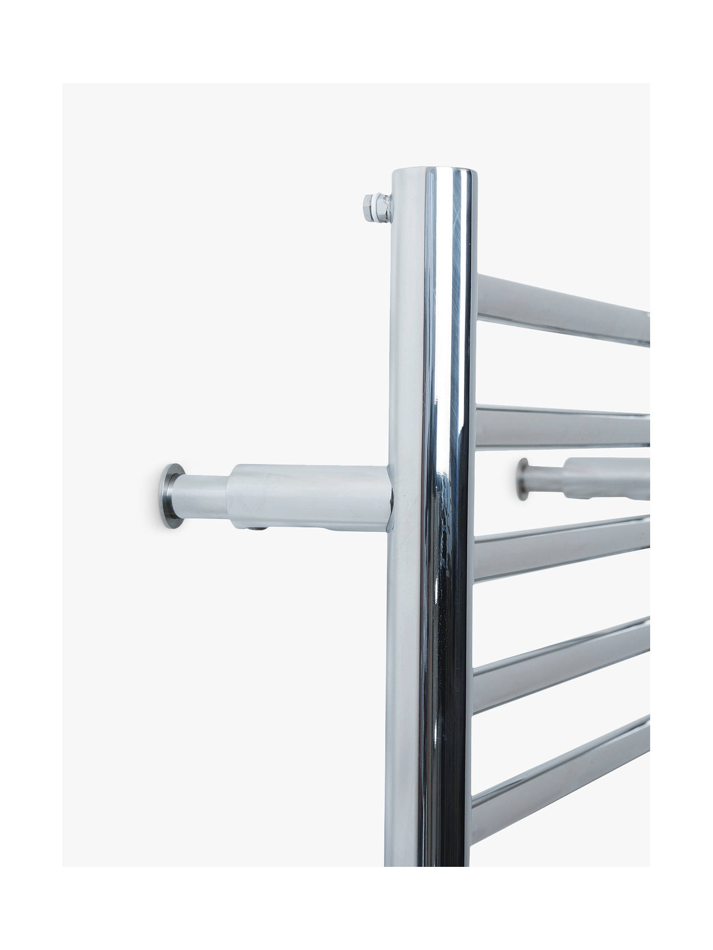 Buy John Lewis & Partners Radiator Adjustable Brackets, Polished Chrome Online at johnlewis.com