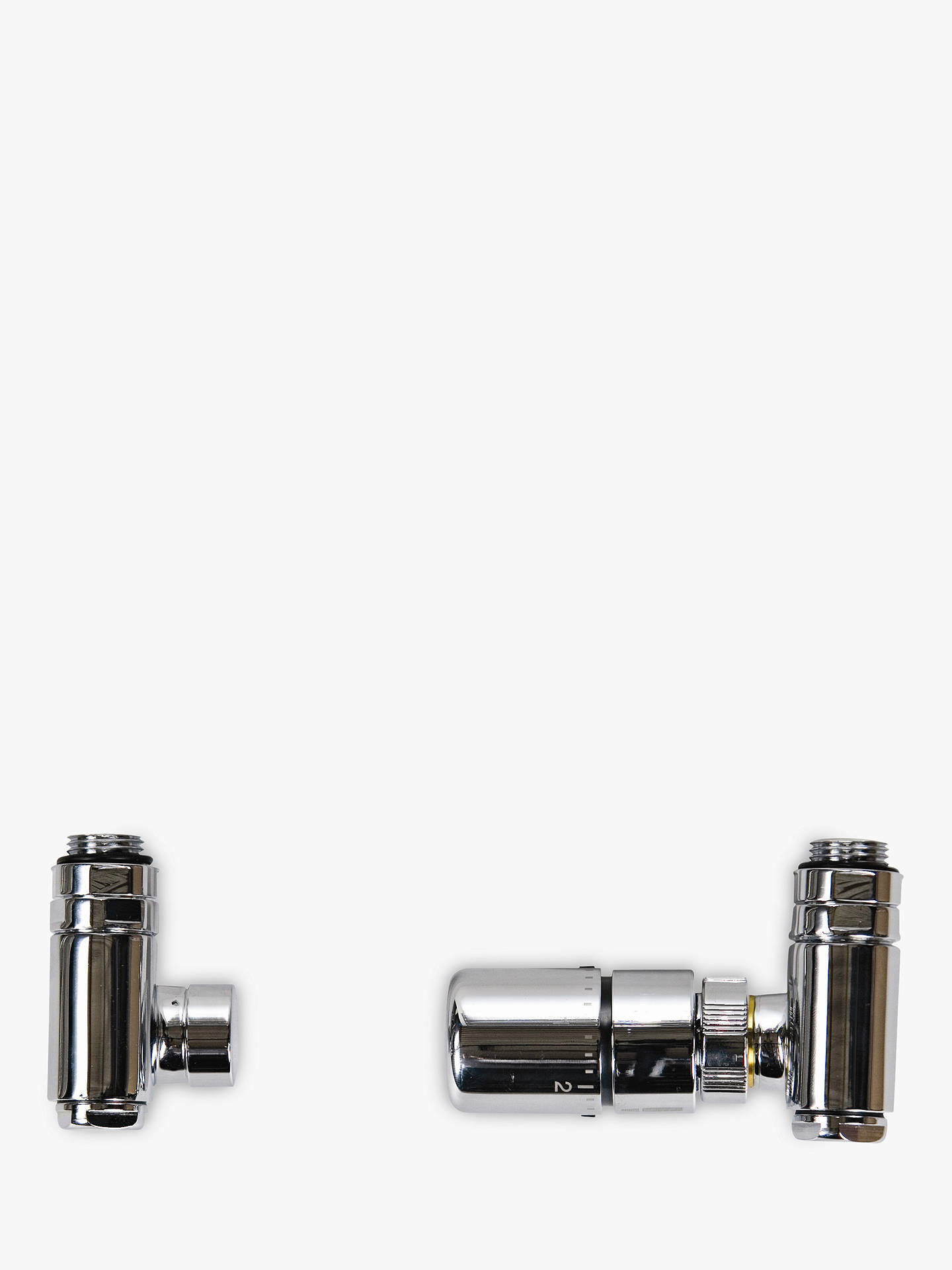 BuyJohn Lewis & Partners Radiator TRV Duel Fuel Valves, Polished Chrome Online at johnlewis.com