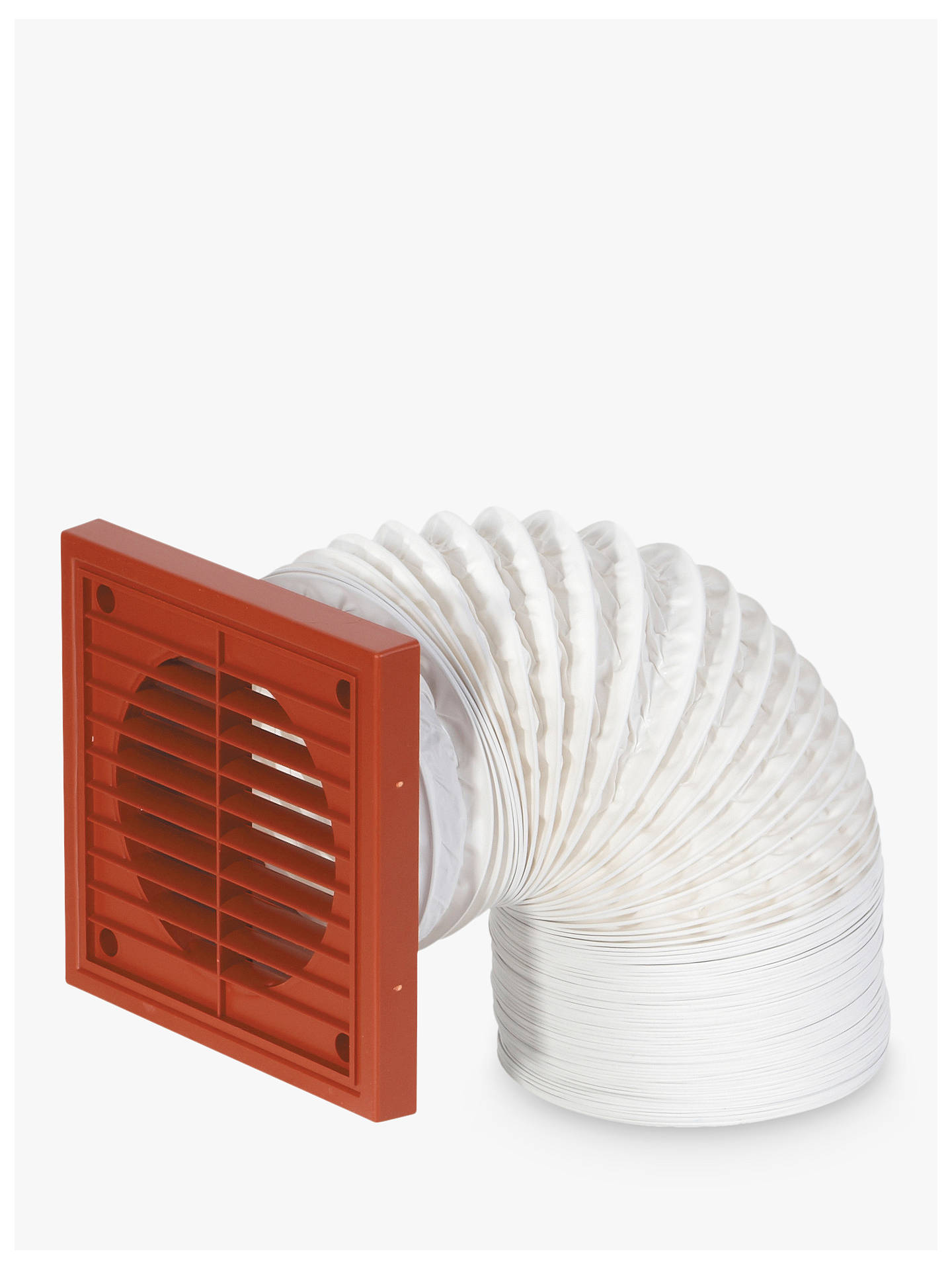 BuyJohn Lewis & Partners Venting Flexible Duct Kit, Terracotta Online at johnlewis.com