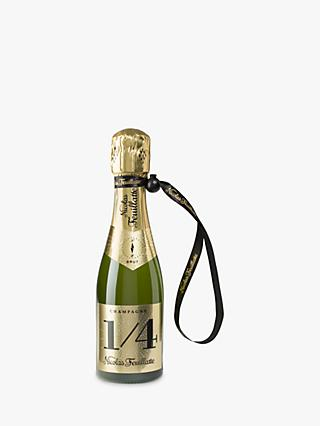 Champagne Nicolas Feuillatte One Fo(u)r Brut with a Jacket, 20cl