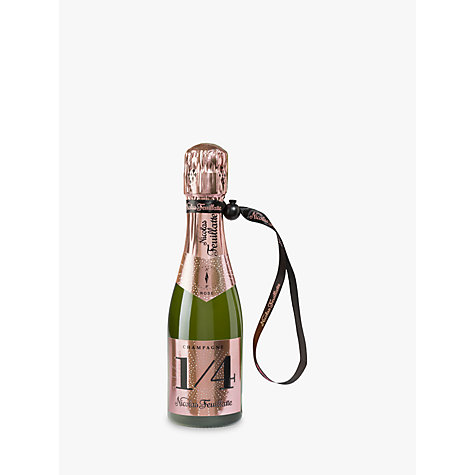 Buy Champagne Nicolas Feuillatte Rose with a Jacket, 20cl Online at johnlewis.com