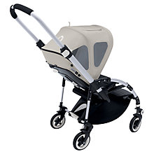 Buy Bugaboo Bee+ Breezy Sun Canopy, Grey Online at johnlewis.com
