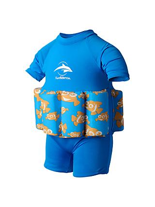 Konfidence Baby Clownfish Floatsuit, Blue