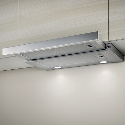 Elica Elite 26 60cm Built-In Cooker Hood, Stainless Steel