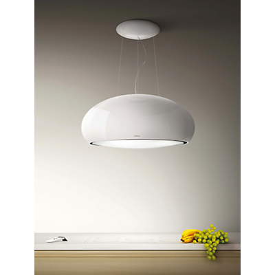 Elica Pearl Cooker Hood, White