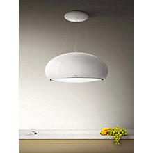 Buy Elica Pearl Cooker Hood, White Online at johnlewis.com