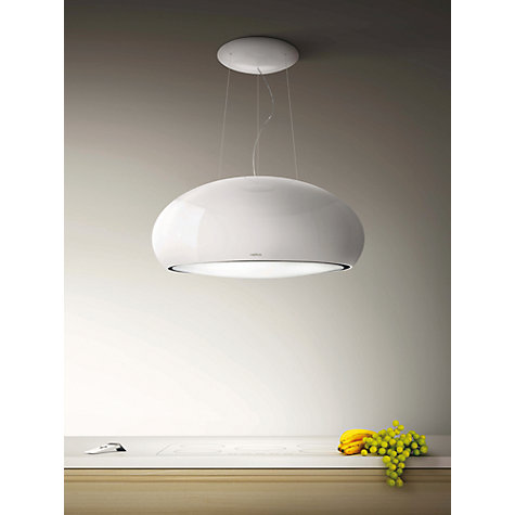 Buy Elica Pearl Cooker Hood, White Online at johnlewis.com ...