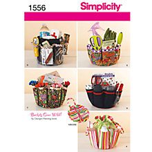 Buy Simplicity Craft Sewing Leaflet, 1556 Online at johnlewis.com