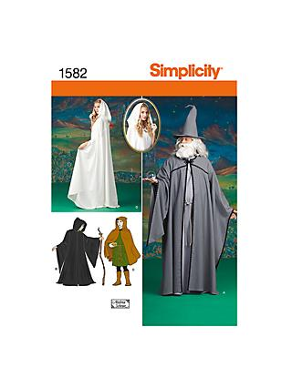 9833dbec0c Simplicity Costume Sewing Pattern